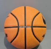 košarkaška lopta, guma